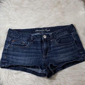 AE denim shorts size 10